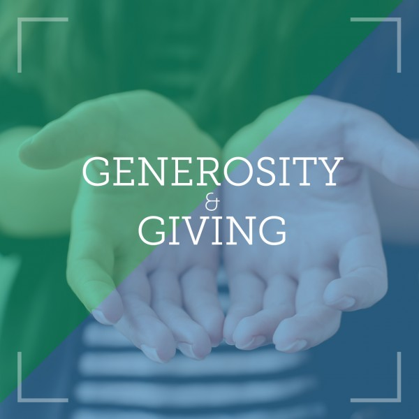 Generosity & Giving