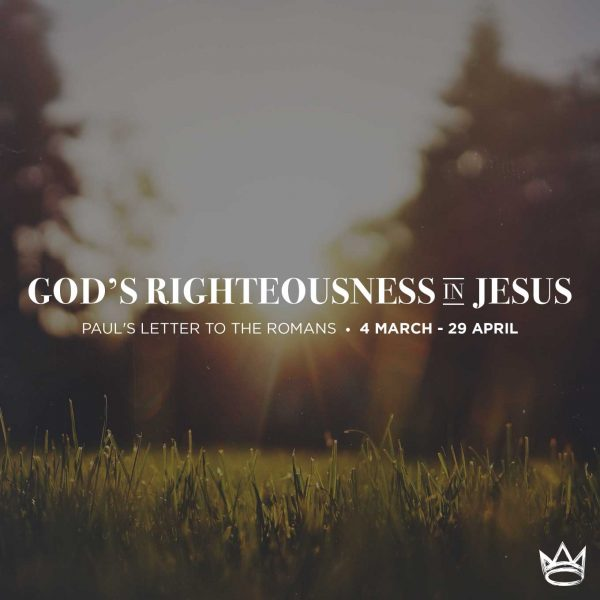 God's Righteousness in Jesus